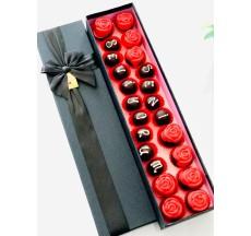 Black box / Lezzetli Çikolata Kaplı Kek ve Truffle Şık Kutusunda