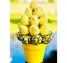 Sarı Şekerim / Lezzetli Çikolata Kaplı Çilek Çileğin En Tatlı Hali