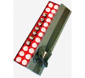 Love Box /  Lezzetli Çikolata Kaplı Meyveli Truffle Şık Kutusunda