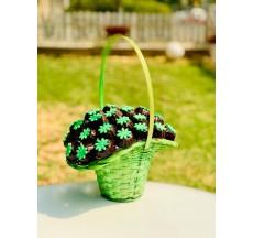 Yeşil Papatyalar Kurabiye Sepeti