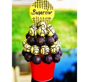 Başarıya Koşan Lezzet / Lezzetli Çikolatalı Kuru Meyveli Truffle