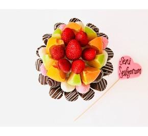 Tatlı Meyvem / Lezzetli Çikolata Kaplı Meyvelerin En Tatlı Hali